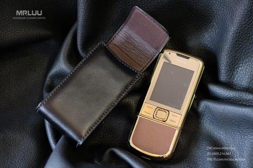 Bao da Nokia 8800 Arte da bo (mau đen)